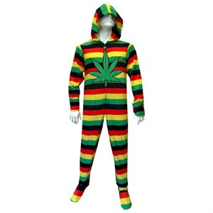 420 Adult Footie Onesie Pajamas