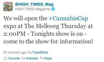 High Times Mag post screenshot